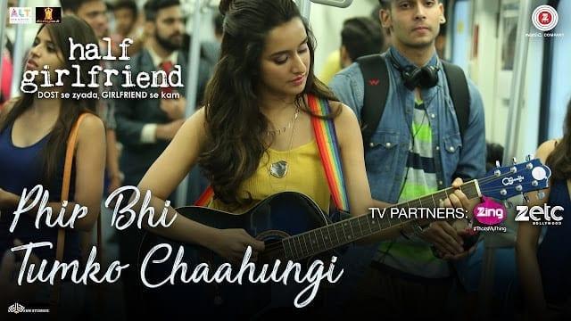 Phir Bhi Tumko Chaahungi Lyrics - Half Girlfriend