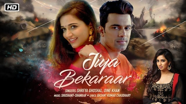 Jiya Bekaraar Lyrics - Shreya Ghoshal