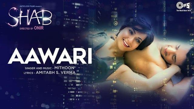 Aawari Song Lyrics - Shab