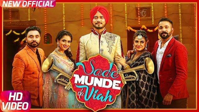 Sade Munde Da Viah Lyrics | Dilpreet Dhillon | Desi Crew | Himanshi Khurana | Oshin Brar