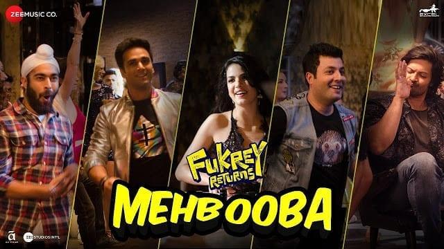 Mehbooba Lyrics | Fukrey Returns | Prem & Hardeep | Mohammed Rafi, Neha Kakkar, Raftaar & Yasser Desai