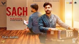 Sach Song Lyrics  | Nadha Virender | Latest Punjabi Song 2018 | VS Records