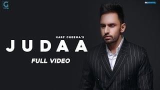 JUDAA Song Lyrics | Harf Cheema (Full Video) Sukhe | Tanya | Satti Dhillon |