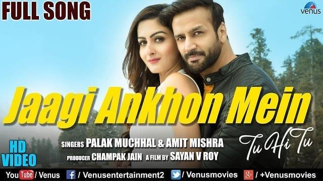 Jaagi Aankhon Mein Lyrics | Palak Muchhal, Amit Mishra & Bappa.B.Lahiri | Ft: Zaara & Farhad | Romantic Song