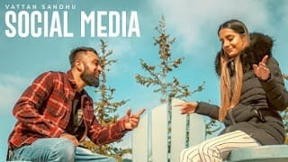 Social Media Song Lyrics | Vattan Sandhu (Full Song) Xtatic | Rupan Bal | Latest Punjabi Songs 2018