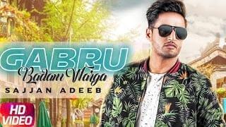 Gabru Badam Warga Lyrics  | Sajjan Adeeb | Latest Punjabi Song 2018 | Speed Records