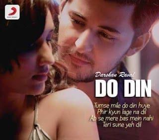 Do Din Lyrics   Darshan Raval   Akanksha Sharma