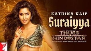 Suraiyya Lyrics | Thugs of Hindostan | Vishal Dadlani | Shreya Ghosal