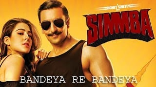 Bandeya Re Bandeya Lyrics | Simmba | Arijit Singh | Asees Kaur