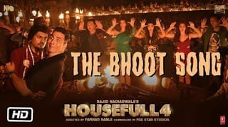 Bhoot Song Lyrics - Housefull 4 - Mika Singh, Farhad Samji