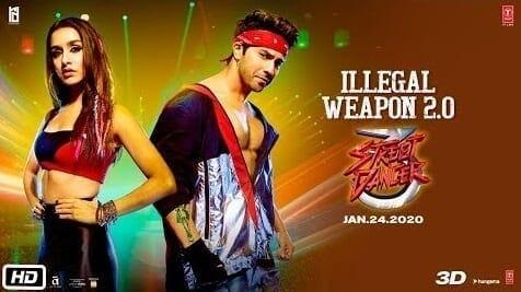 Illegal Weapon 2.0 Lyrics - Jasmine Sandlas - Garry Sandhu - Street Dancer